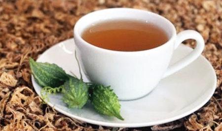 Cách dùng trà khổ qua rừng, trái khổ qua rừng