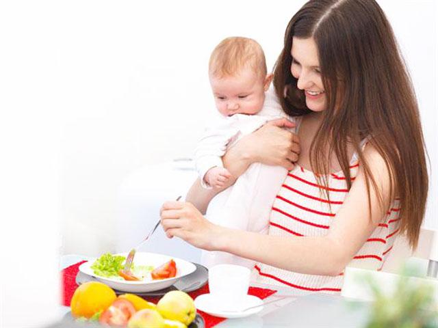 Mẹ ăn gì để có nhiều sữa, món ăn, thực phẩm lợi sữa sau sinh
